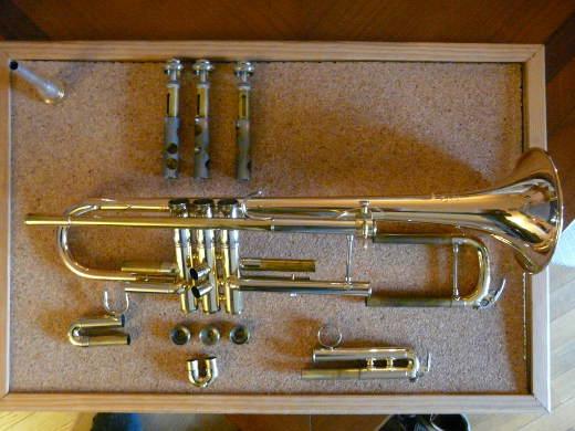 Piston de trompette bloqué