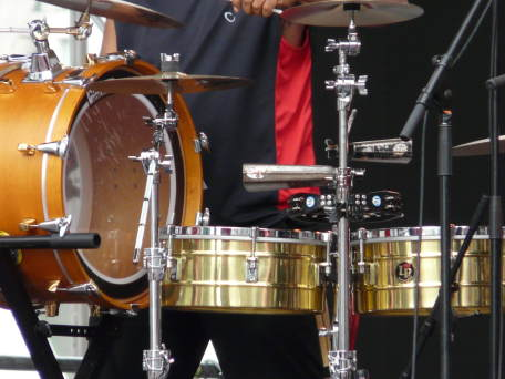 Percussion de brass band